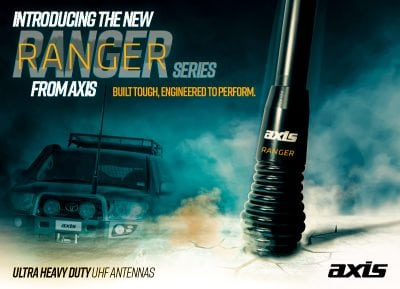 The New Axis Ultra Heavy Duty UHF Ranger Series Antennas!