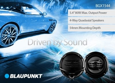 Blaupunkt's New BGX Speakers!