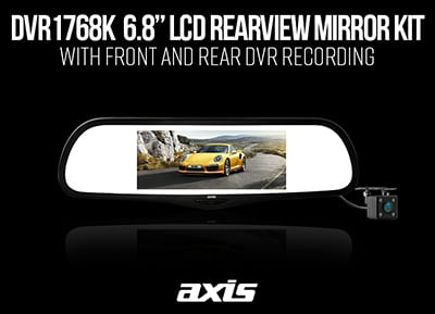 Axis DVR1768K with Front & Rear Recording!