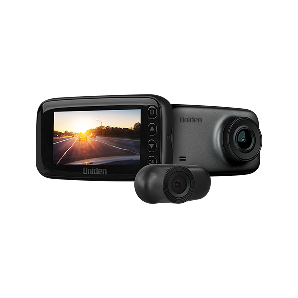 2.7K DUAL CAMERA FULL HD DASH CAM with GPS & WIFI
