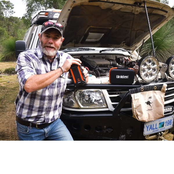 Graham Cahill from 4WD Action checks out the UPP1000 4WD Waterproof Jump Start Kit