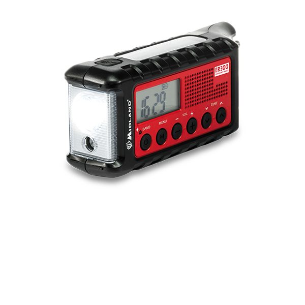 ER300 Midland Multiple Power Source Emergency Radio